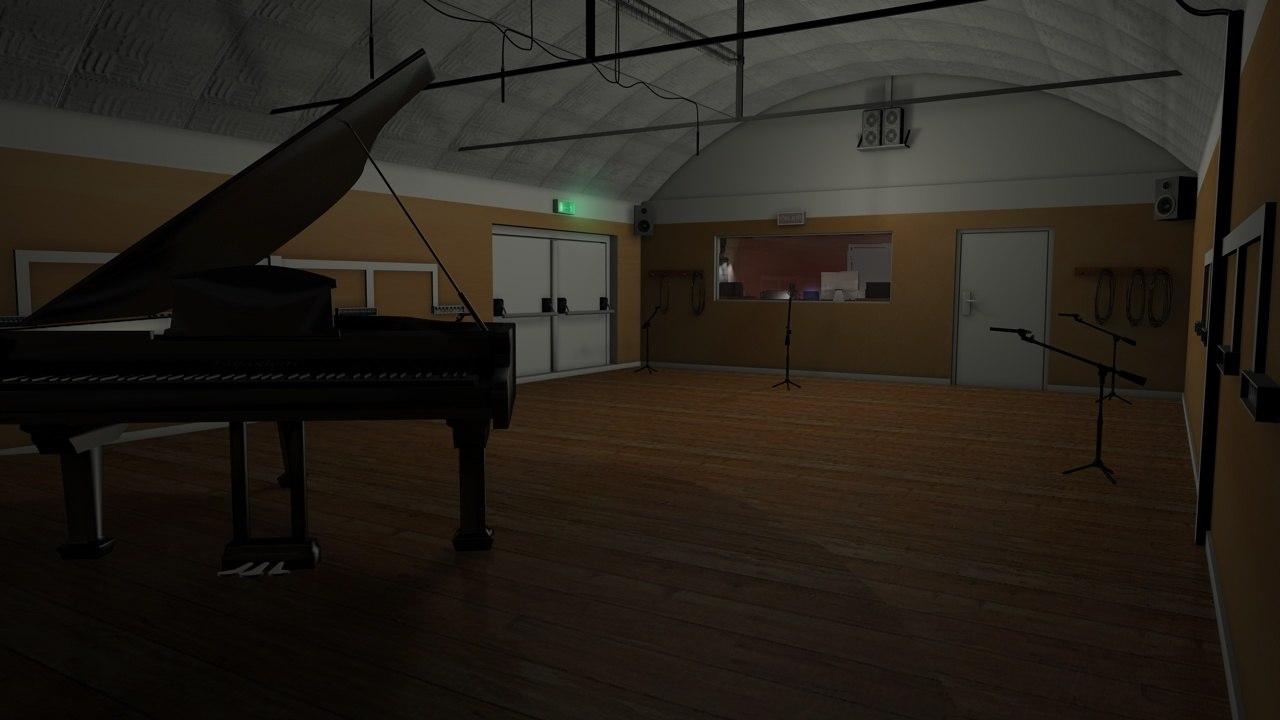 3d recording studio
