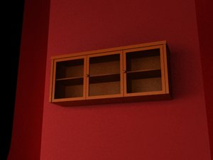3d home cabinet