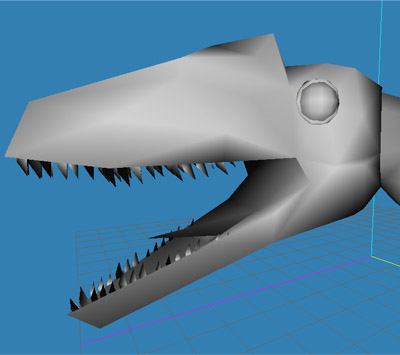 3d model raptor dinosaur deinonychus