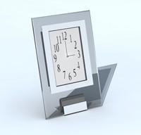 3d max desk clock