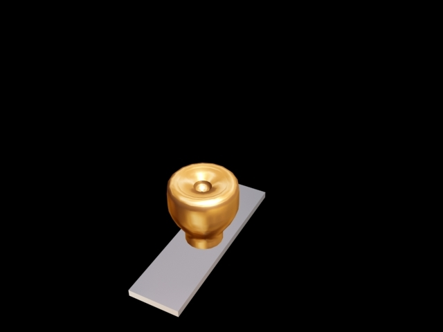3ds max door knob