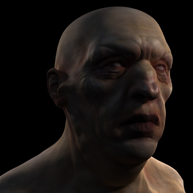 free character 3d model