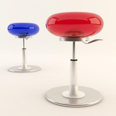 3d mambo stool