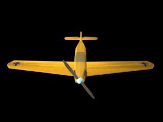 world war fighter 3d model