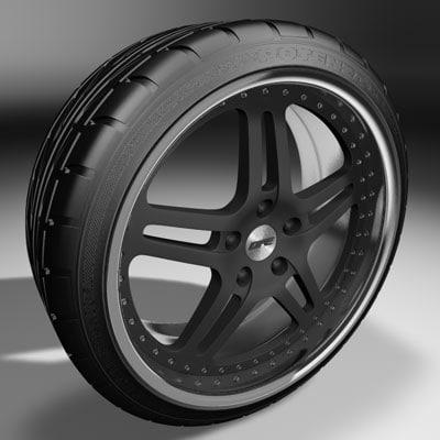 c4d dpe r05 alloy wheel
