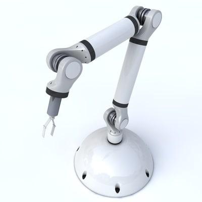 3d model industrial roboter