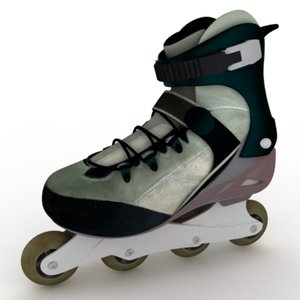 recreation roller 3d model