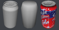 normal mapped soda 3ds