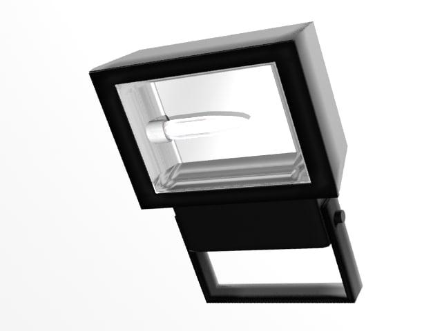 floodlight light 3d model
