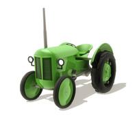 obj vintage tractor