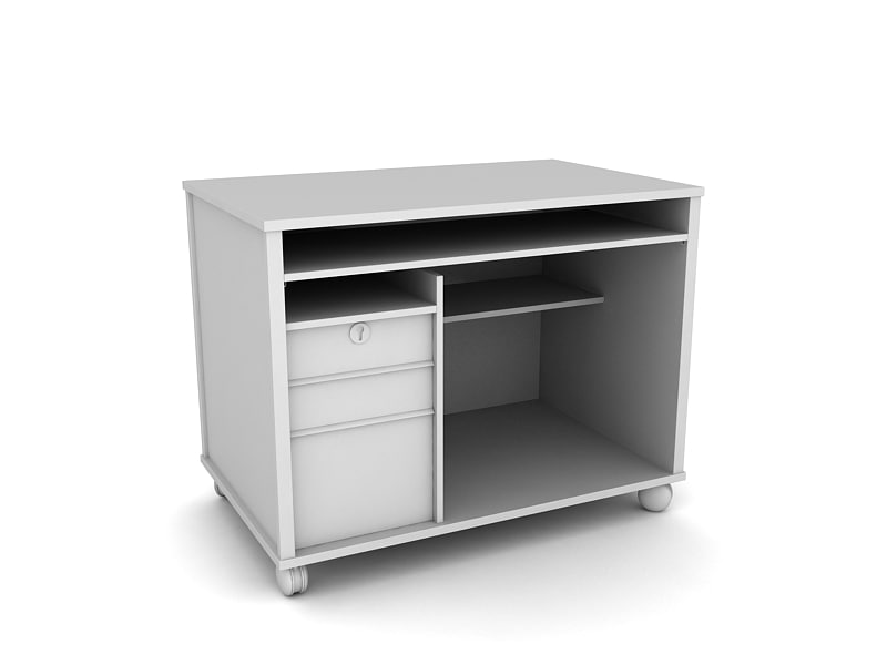 3d model closet table