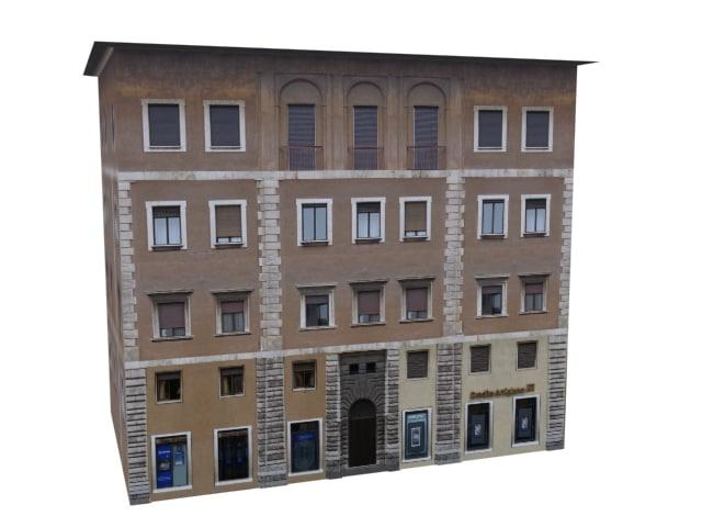classic european apartments 3d model