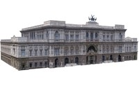 3d model building structure majestic europe