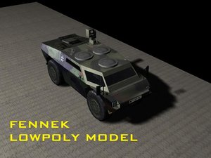3d games fennek model