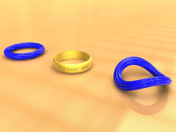 wedding ring engagement 3d model