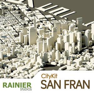 citykit san 3d dwg