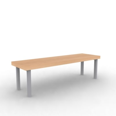 chair bench 3ds