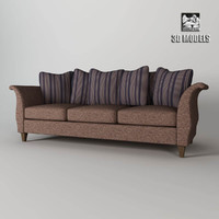 3d model baker capucine sofa