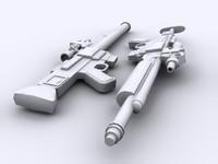 Star Wars Blastech DLT-20A Blaster Rifle