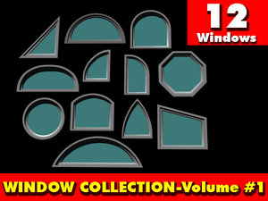 3d window 1 model