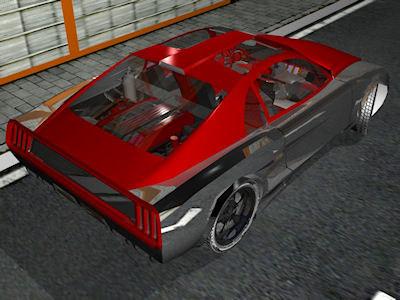 free 3ds model concept scene