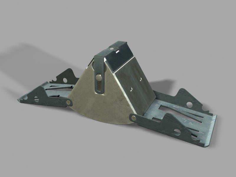 m43a1 anti-personnel landmine 3d model