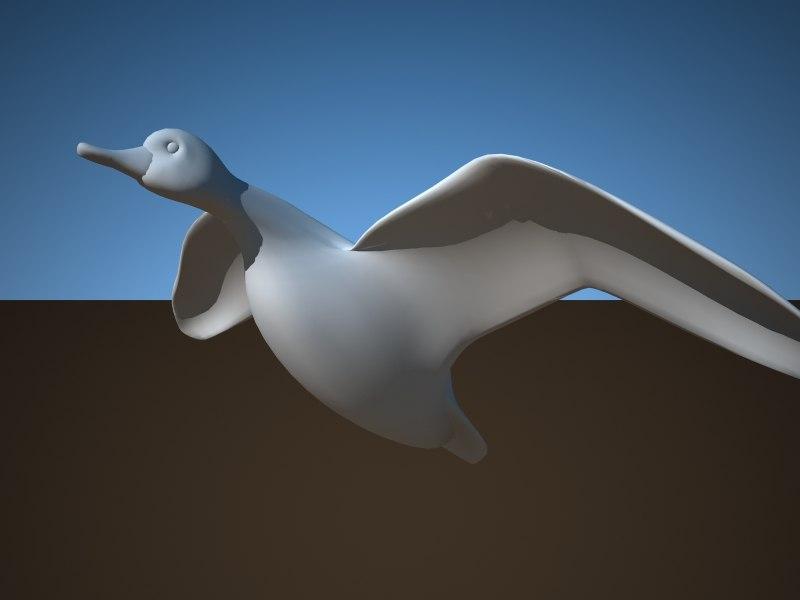 3d bird 11 species collections model