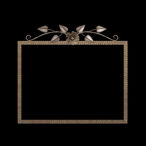 fer mirror picture frame 3d model