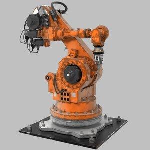robot arm 3d model