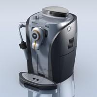 3d model odea sporty coffeemaker