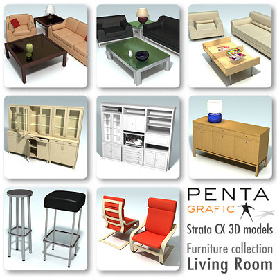 strata furniture vol 1 3d 3ds