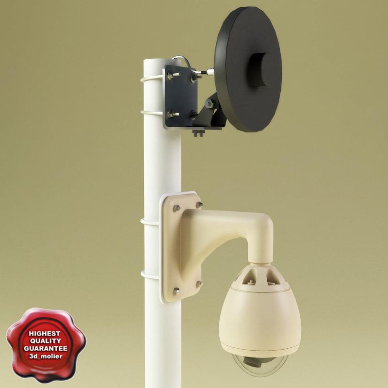 3d x security camera v3