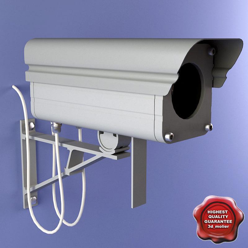 security camera v4 3d model