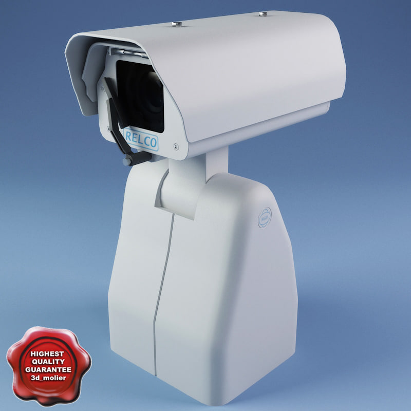 security camera v5 3d model