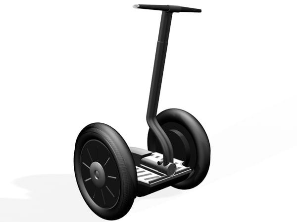 3d model segway personal transport