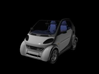 smart car passion 3d model