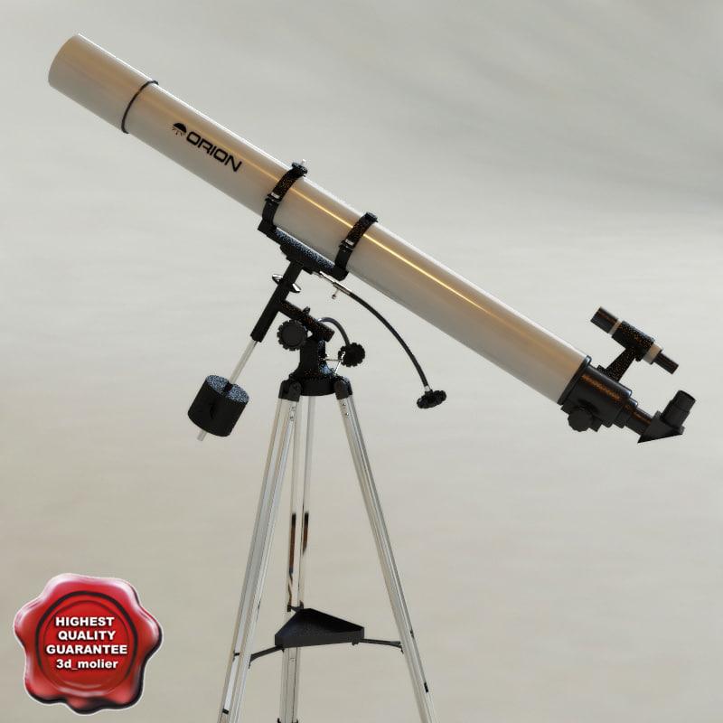 telescope orion modelled 3d model