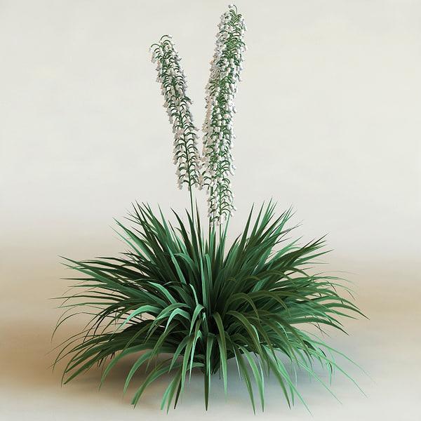 big plants collections 3d max