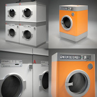 3ds max public laundry machine