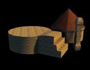 temple broken 3d x