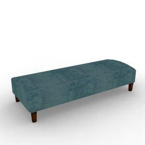 3d chair bench stool