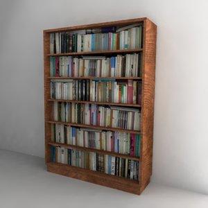 book shelf bookshelf 3ds