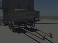 free carriage 3d model