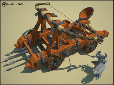 medieval fantasy catapult 3ds
