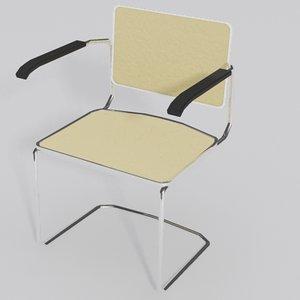 3d cesca arm chair