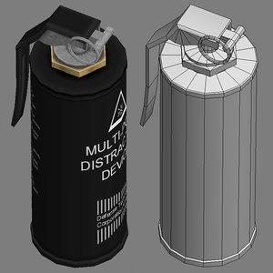 3d 3ds grenade arming