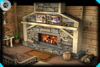 fireplace layout (home remodeling)