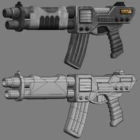 3dsmax hm rifle