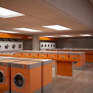 public laundry 3d max
