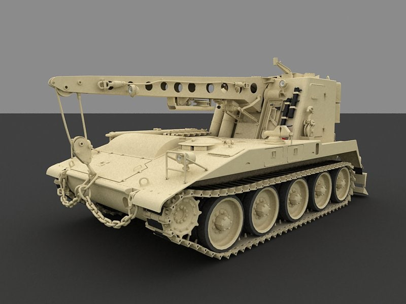 m578 light armored recovery 3ds